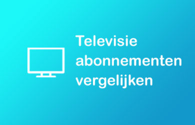 televisie abonnement vergelijken